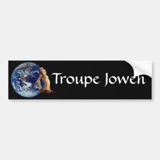 Earth Dancer Bumper Sticker
