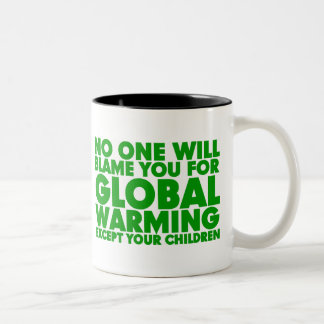 Earth Day 2009, April 22, Stop Global Warming Coffee Mugs