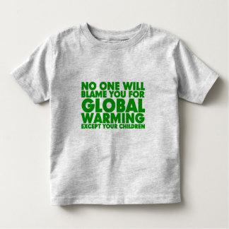 Earth Day 2009, April 22, Stop Global Warming Shirt