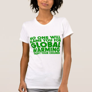Earth Day 2009, April 22, Stop Global Warming T-Shirt