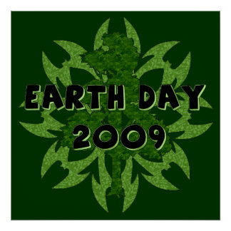 Earth Day 2009 Art Poster