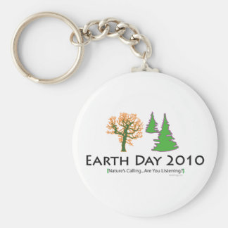 Earth Day 2010 Keychain