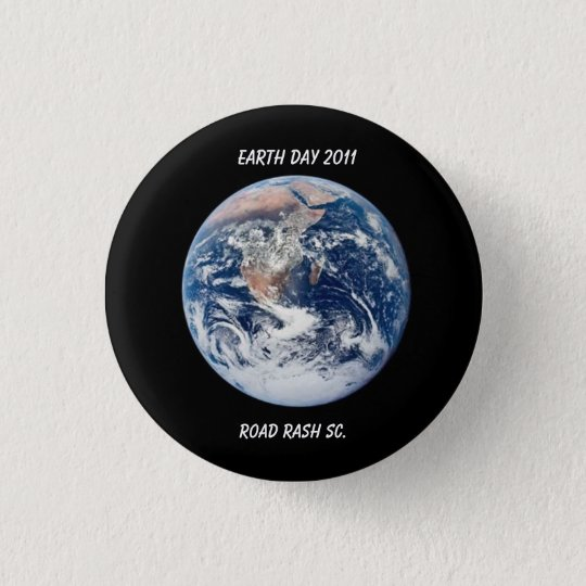 Earth Day 2011 3 Cm Round Badge