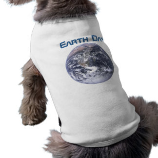 Earth Day 2012 - Earth in full view Doggie Tee Shirt