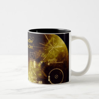 Earth Day 2012 - Sounds of Earth gold record Coffee Mug
