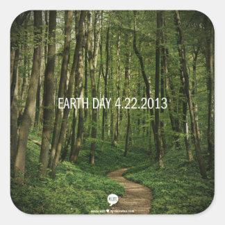 Earth Day 4.22.2013 Square Sticker