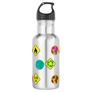 Earth day 532 ml water bottle