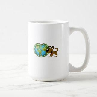 Earth Day and Boots Mug