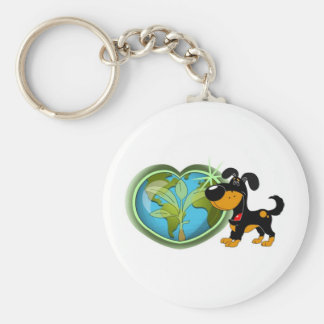 Earth Day and Bubba Keychain