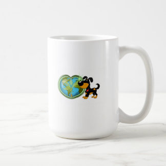 Earth Day and Bubba Classic White Coffee Mug