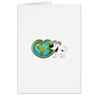 Earth Day and Cutie Greeting Card