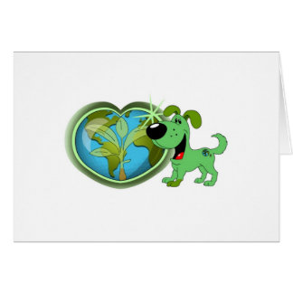 Earth Day and Leaf Greeting Cards
