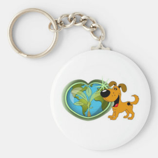 Earth Day and Pumpkin Keychain