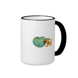 Earth Day and Pumpkin Ringer Mug
