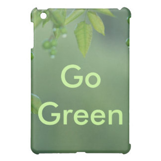 Earth day and think green iPad mini cases