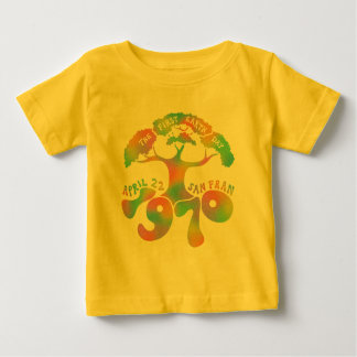 Earth Day Anniversary Baby T-Shirt