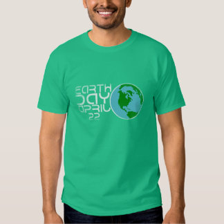 Earth Day April 22 Grunge design T Shirts