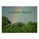 Earth Day & Arbor Day Trees Poster