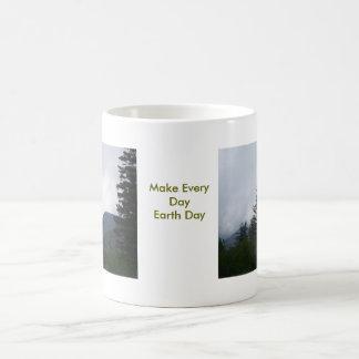 Earth Day Basic White Mug