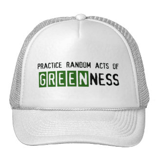 Earth Day - Be Green Cap