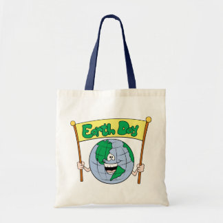 Earth Day Budget Tote Bag