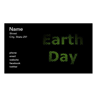 Earth Day Business Card Template