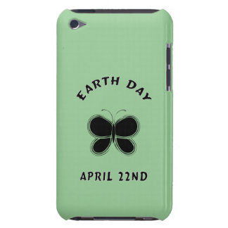 Earth Day Butterfly Barely There iPod Cases