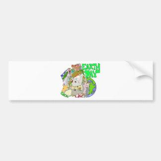 Earth Day Car Bumper Sticker