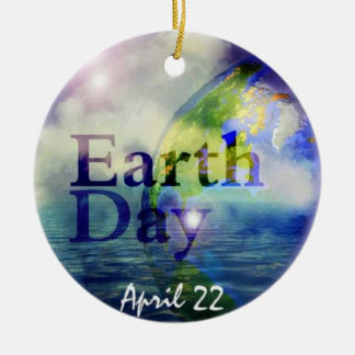 Earth Day Christmas Ornament