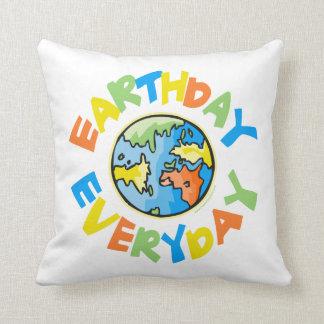 Earth Day Cushion