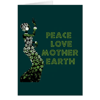 Earth Day Dancer Greeting Card