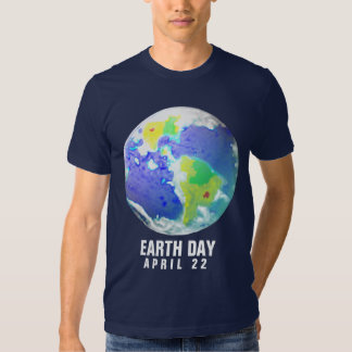 EARTH DAY DAY ART 2010 APRIL 22 T-SHIRTS