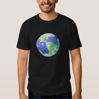 EARTH DAY DAY ART 2010 APRIL 22 TEE SHIRT