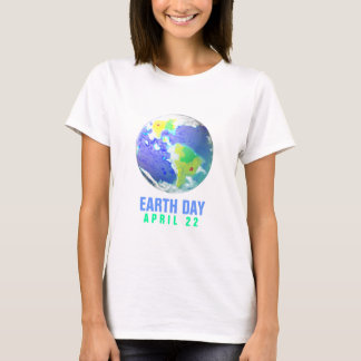 EARTH DAY DAY ART III 2010 APRIL 22 T-Shirt