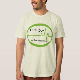 Earth  Day EKG T-Shirt