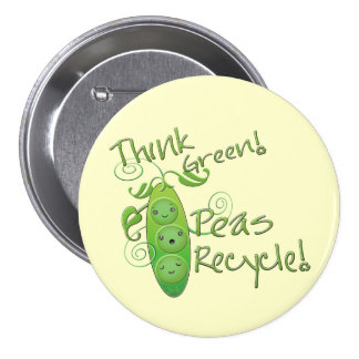 Earth Day Environmental 7.5 Cm Round Badge