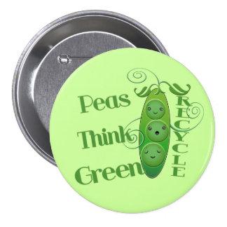 Earth Day Environmental 7.5 Cm Round Badge