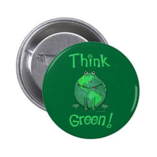 Earth Day Environmental 6 Cm Round Badge