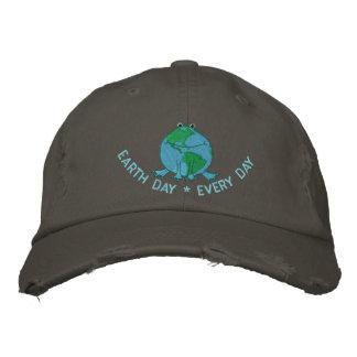 Earth Day Environmental Embroidered Baseball Caps
