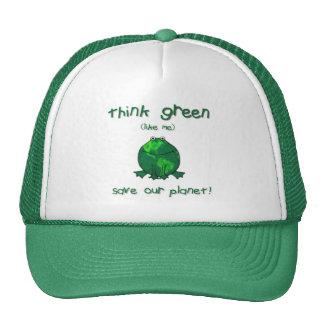 Earth Day Environmental Frog Cap