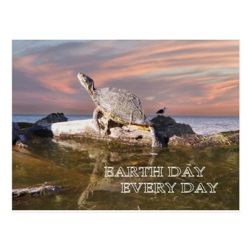 Earth Day Every Day Postcards