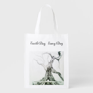 Earth Day Every Day Reusable Grocery Bag