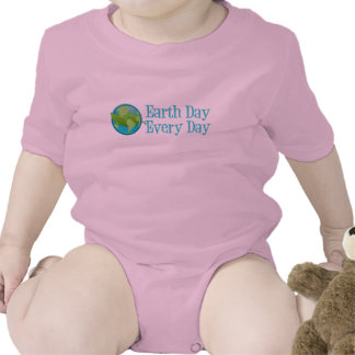 Earth Day Every Day Romper