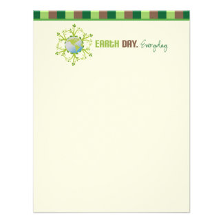 Earth Day Everyday Flat Note Cards Custom Invites