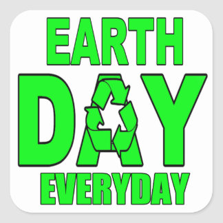 Earth Day Everyday Stickers