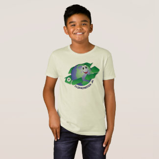 Earth Day Fashionister Jr. Planet Design T-Shirt