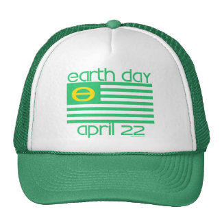 Earth Day Flag April 22 Hat