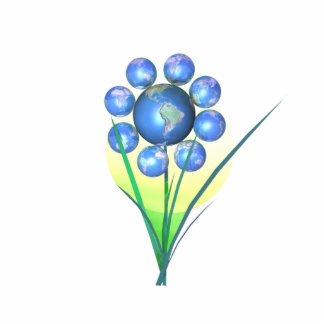 Earth Day Flower Photo Cut Out