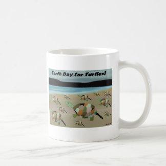 Earth Day for Turtles Classic White Coffee Mug