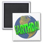Earth Day Fridge Magnets